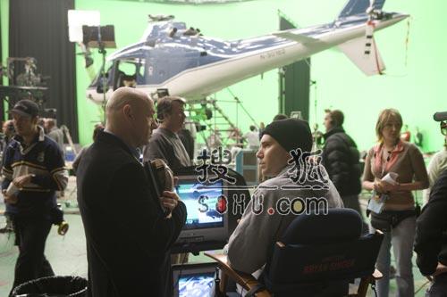《超人归来》幕后拍摄花絮照片-11(图)