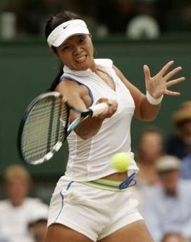 温网-李娜0-2告负仍赢得掌声 小克晋级女单四强