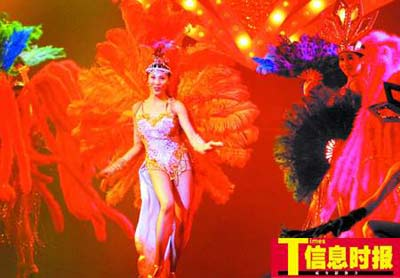 国际魔法大师丹尼13日在广州表演珠江逃生(图)