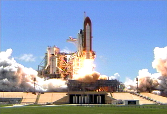 Launch of Space Shuttle Discovery!