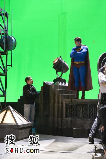 《超人归来》幕后拍摄花絮照片-18(图)
