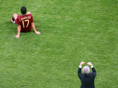 图文:葡萄牙0-1法国 失落的C-罗纳尔多
