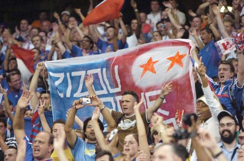 图文:葡萄牙0-1法国 悲伤喜悦溶化整个城市