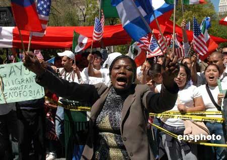 纽约市长称若美非法移民全遣返 美国经济或瘫痪