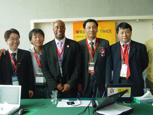 搜狐数码天下·TWICE——2006SINOCES总裁在线