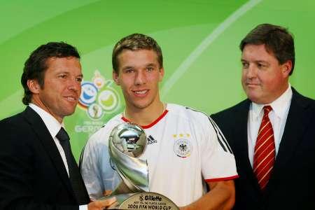 世界杯最佳新秀奖出炉 德国小将波多尔斯基当选