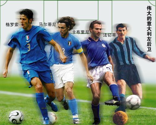 图文:光荣与传统 伟大的意大利的左后卫!