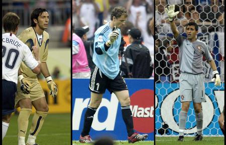 图文:漫画世界杯 入围全明星阵容的三位守门员