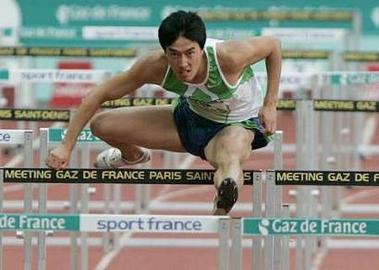 黄金联赛巴黎站刘翔仅第四 特拉梅尔跑最好成绩
