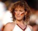 图文:德国VS葡萄牙 美女球迷成熟靓照
