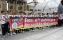 图文:德国举行球迷答谢会 球迷们,谢谢你们