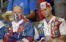 图文:意大利6-4法国 失意的法国球迷