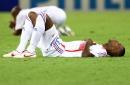 图文:意大利6-4法国 失落的法国球员