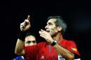 图文:意大利6-4法国 主裁判在比赛中严格执法