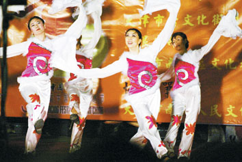 天津第三届舞蹈节特色舞蹈晚会市民热烈欢迎