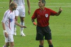 06德国世界杯之星,齐达内,红牌,决赛,法国