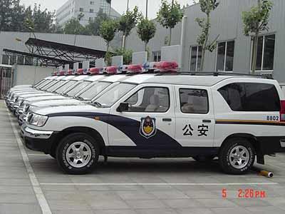 郑州日产多功能车再次入选北京警务用车