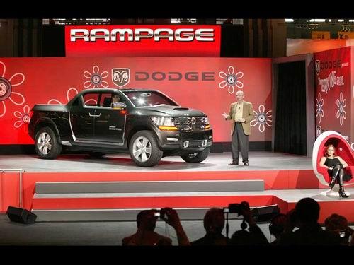 为非传统买主设计 最新道奇Rampage概念车
