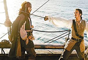 《加勒比海盗2》票房大热 内地上映可能很小