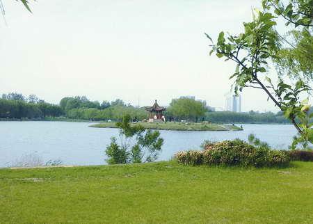 南湖公园之凉亭