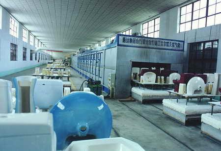 图文:惠达集团自行设计的陶瓷窑炉