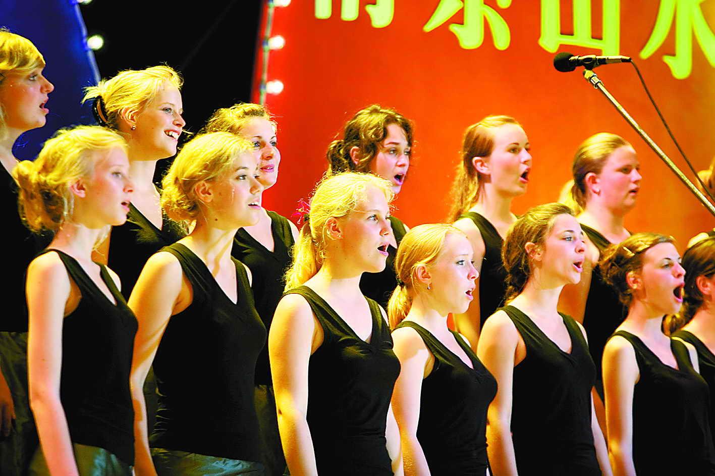 钢琴伴奏 示范演唱yhn 童声合唱 乘着歌声的翅膀