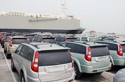 1300辆长城汽车装船 哈弗批量走出国门