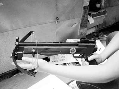 钢珠弹弓枪图纸_可发射钢珠射杀飞禽走兽(组图)-搜狐图片