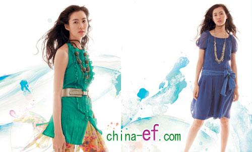服装:韩潮夏季风 轻色彩(