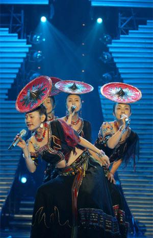 青歌赛组合演唱决赛选手:新稻子