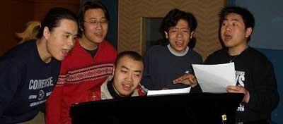 青歌赛组合演唱决赛选手:八风组合
