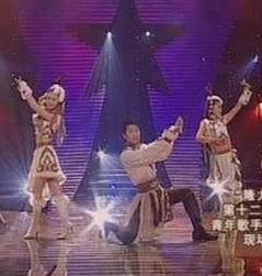 青歌赛组合演唱决赛选手:梅露丽组合