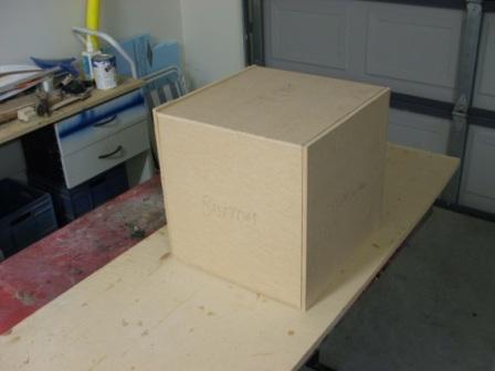 机箱初步模型完成