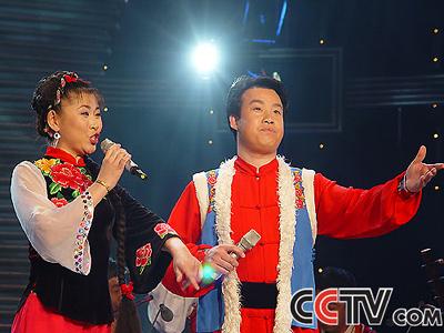 青歌赛原生态唱法决赛选手:刘树宝 柴月花