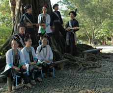青歌赛原生态唱法决赛选手:车江侗歌队