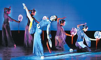 第三届天津舞蹈节中华剧院摆下舞蹈艺术盛宴
