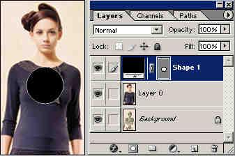 Photoshop打造图层透视效果动画Z