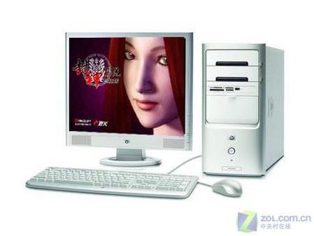惠普P4游戏电脑仅4499元还送打印机