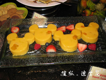 香港迪士尼好莱坞酒店 米奇厨师餐厅精美食物
