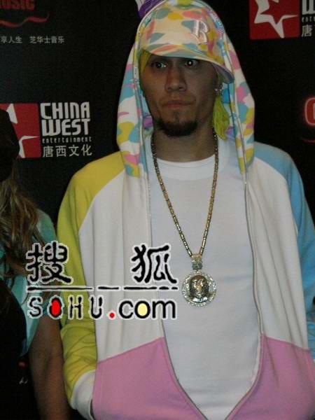 黑眼豆豆个唱上海宣传 组员已让嘻哈融入生活