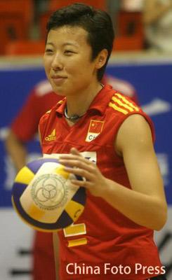中德女排对抗赛在福建开战 中国队3比0轻松取胜