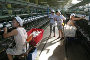 纺织女工热死续:福建总工会彻查高温作业(图)