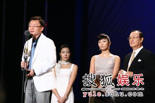 《王的男人》最大赢家 主创人员登台致谢