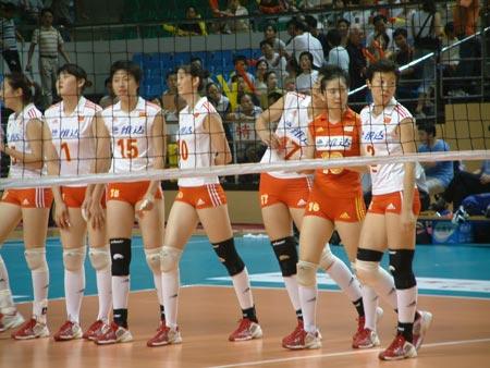 中德女排对抗赛福州再奏凯歌 中国3比0完胜德国