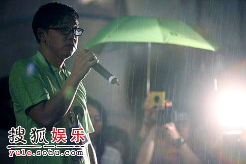 图:乐林老总李秉翰宣布活动取消