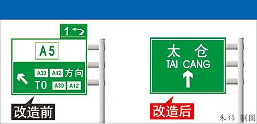 高速公路标志,更清晰(组图)-搜狐新闻