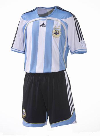 阿根廷足球队服【相关词_ 德国足球队服】图片