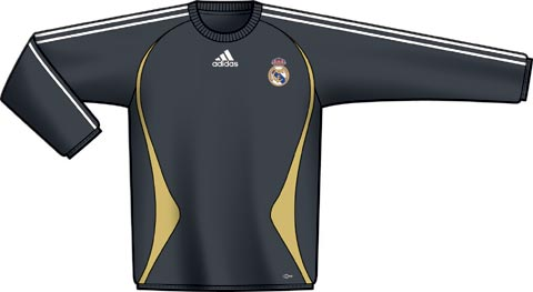 阿迪足球装备:皇马训练服(一)