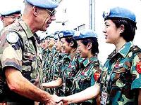 """守望国门之外的中国""""蓝盔""""部队"""