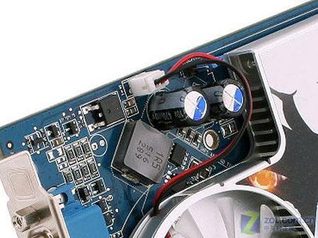 图为:蓝宝石X1600Pro 512M 显卡